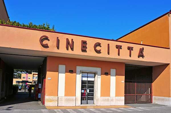Cinecitta filmski studio u Rimu