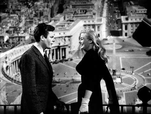 Insert iz filma La Dolce Vita (1960)
